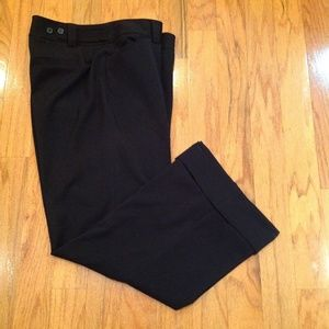 Lane Bryant Woman Size 14 Black Trouser Pants